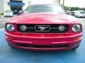 2006 Redfire Metallic Ford Mustang V6 Deluxe Coupe  photo #8