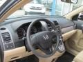 2010 Opal Sage Metallic Honda CR-V LX AWD  photo #8