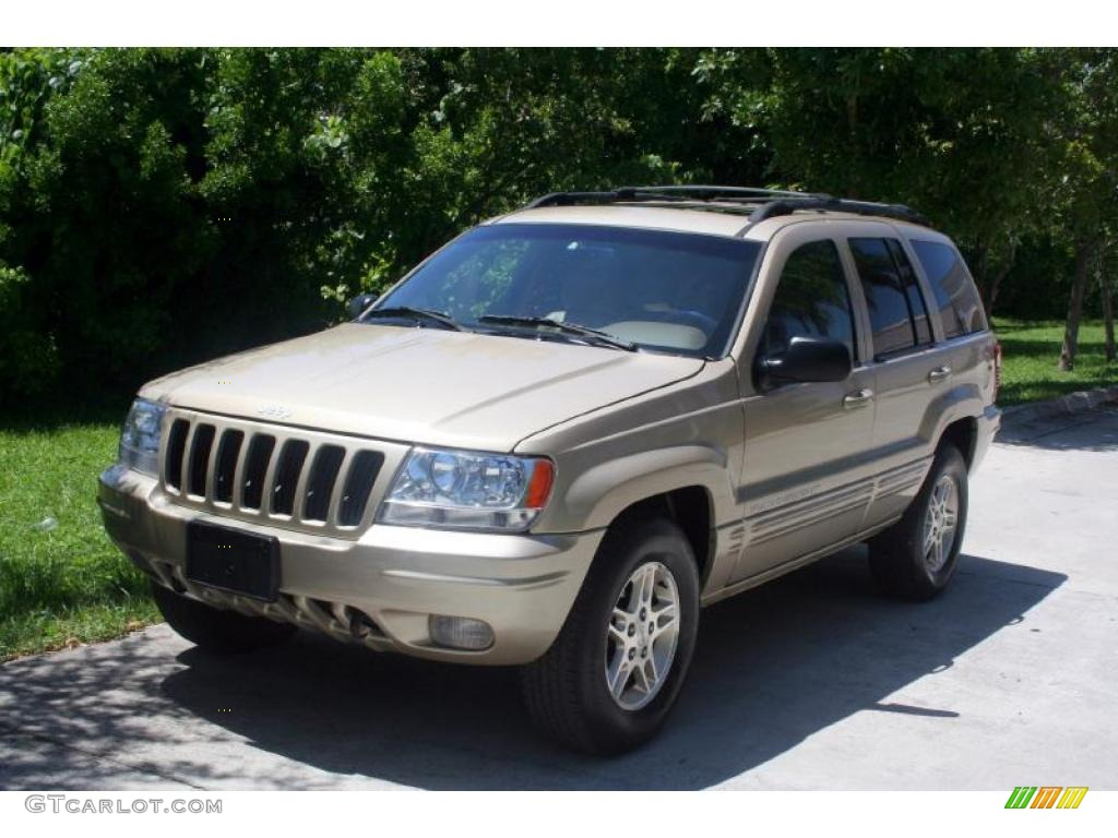 1999 Champagne Pearl Jeep Grand Cherokee Limited 4x4 34581650