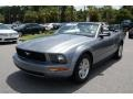 2007 Tungsten Grey Metallic Ford Mustang V6 Premium Convertible  photo #14