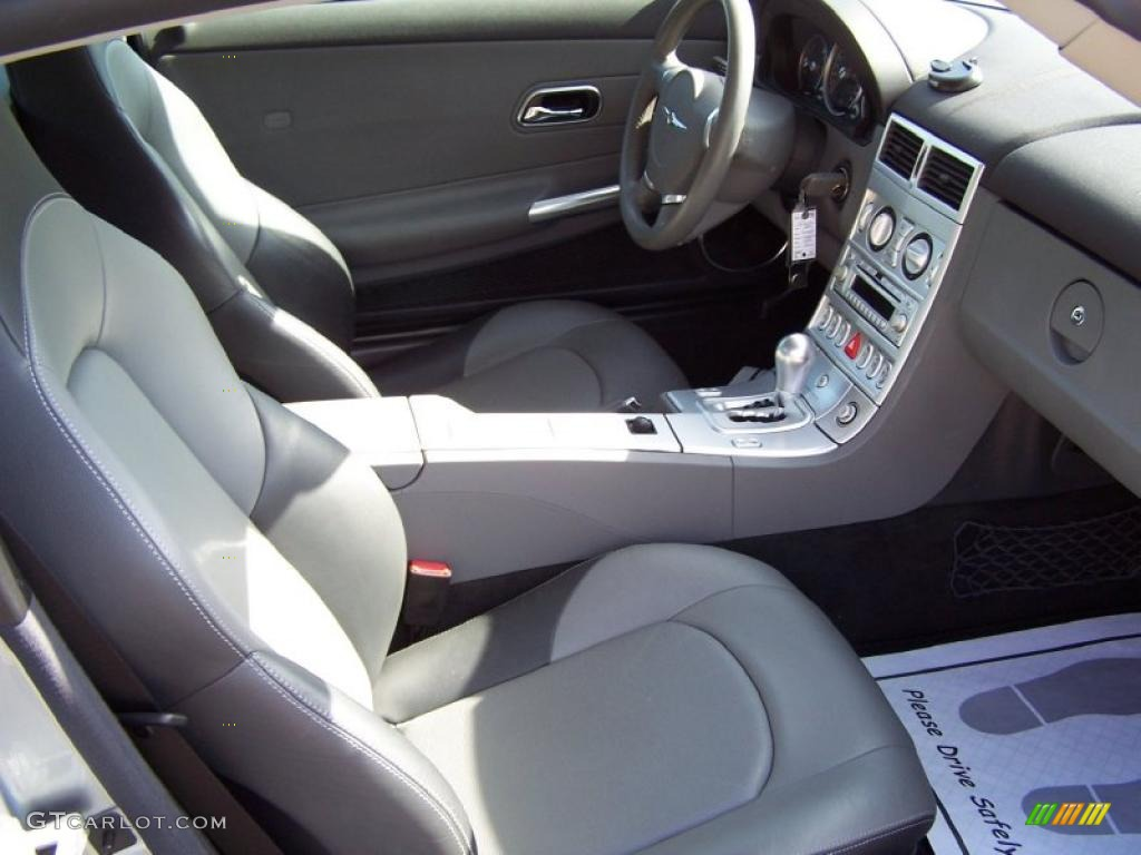 chrysler crossfire custom interior. dark slate graymedium gray interior 2004 chrysler crossfire limited coupe photo 34647576 custom