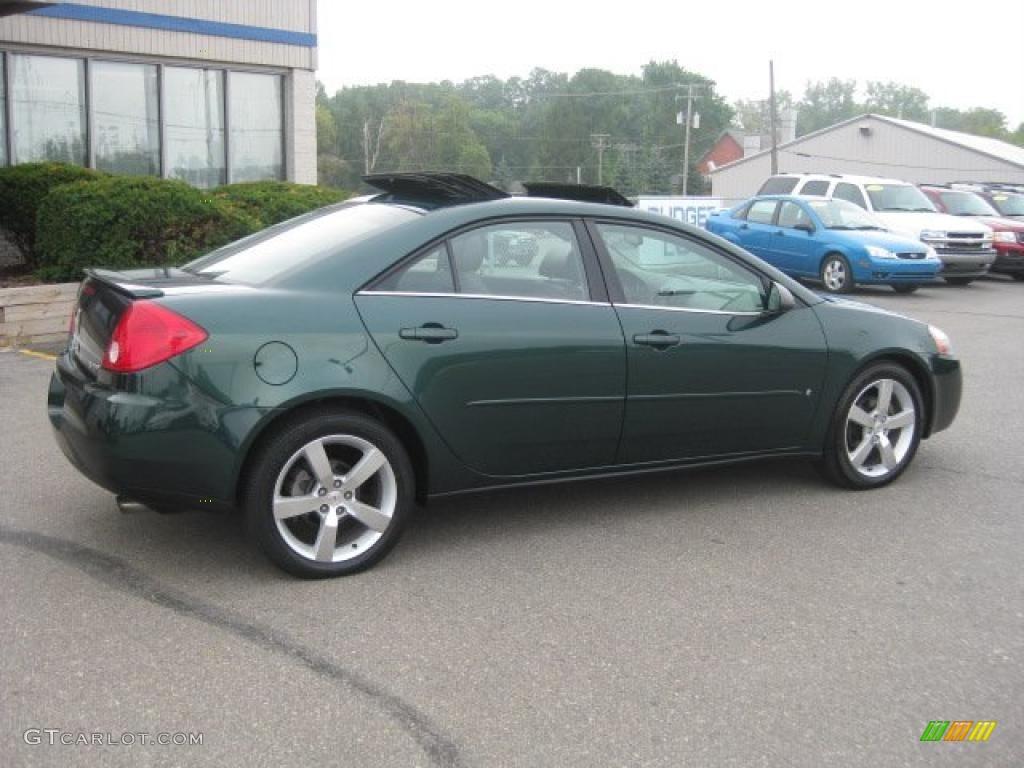 2006 emerald green metallic pontiac g6 gtp sedan 34643455 photo 2 car color. Black Bedroom Furniture Sets. Home Design Ideas