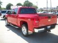 2009 Victory Red Chevrolet Silverado 1500 LT Z71 Crew Cab 4x4  photo #5