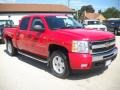 2009 Victory Red Chevrolet Silverado 1500 LT Z71 Crew Cab 4x4  photo #6