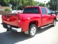 2009 Victory Red Chevrolet Silverado 1500 LT Z71 Crew Cab 4x4  photo #7