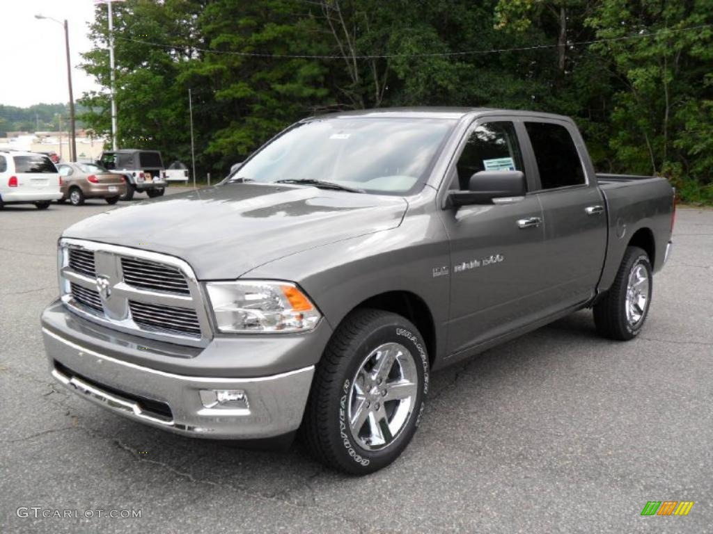 2011 mineral gray metallic dodge ram 1500 big horn crew cab 34643854 car color. Black Bedroom Furniture Sets. Home Design Ideas