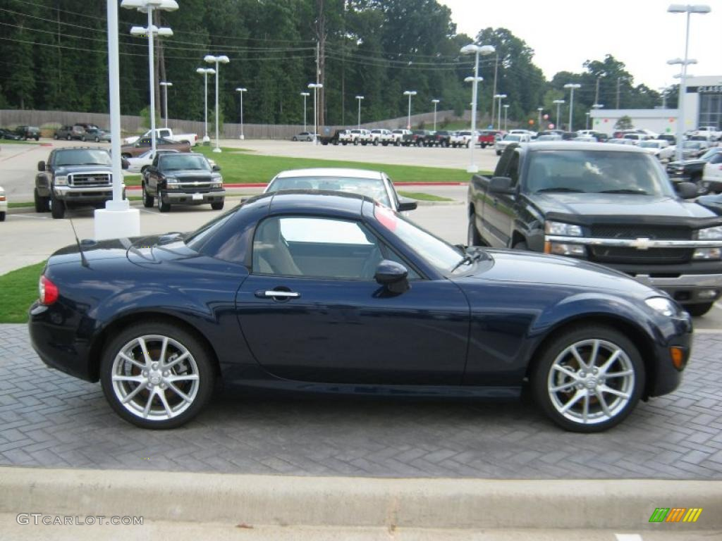 2010 stormy blue mica mazda mx 5 miata grand touring hard. Black Bedroom Furniture Sets. Home Design Ideas