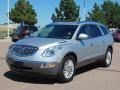 2010 Quicksilver Metallic Buick Enclave CXL AWD  photo #3