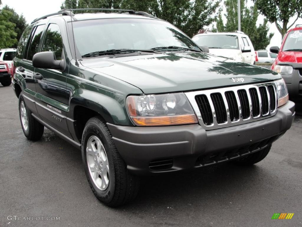 2001 shale green metallic jeep grand cherokee laredo 4x4. Black Bedroom Furniture Sets. Home Design Ideas