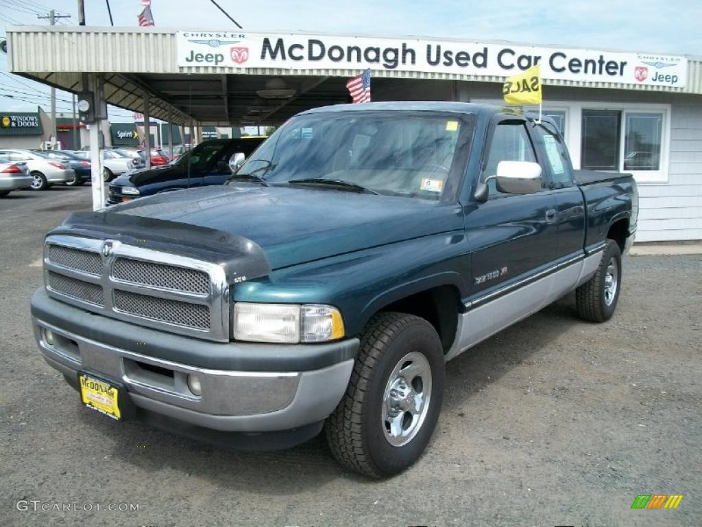 1996 spruce green pearl dodge ram 1500 slt extended cab 34644076 car color. Black Bedroom Furniture Sets. Home Design Ideas