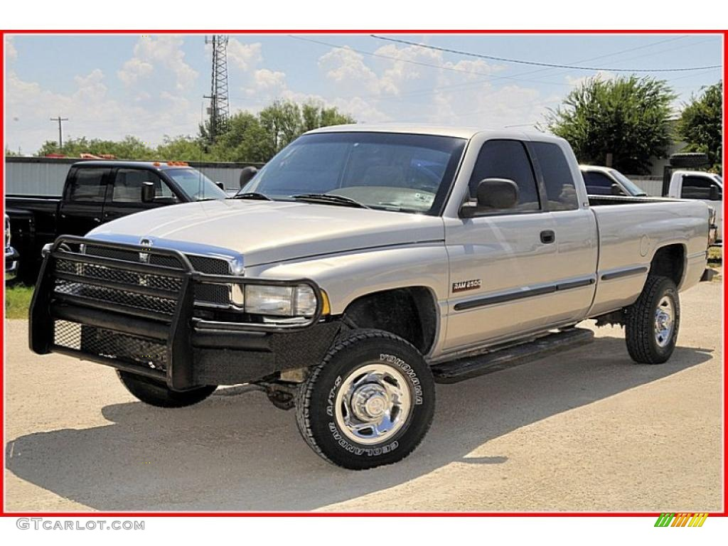 1999 Bright Silver Metallic Dodge Ram 2500 Slt Extended Cab 4x4 34736708 Car