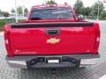 2009 Victory Red Chevrolet Silverado 1500 LT Crew Cab  photo #4