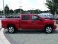 2009 Victory Red Chevrolet Silverado 1500 LT Crew Cab  photo #6