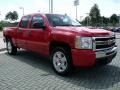 2009 Victory Red Chevrolet Silverado 1500 LT Crew Cab  photo #7