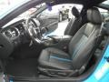 2011 Grabber Blue Ford Mustang GT Premium Coupe  photo #9
