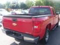 2009 Victory Red Chevrolet Silverado 1500 LS Extended Cab  photo #9