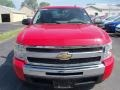 2009 Victory Red Chevrolet Silverado 1500 LS Extended Cab  photo #11
