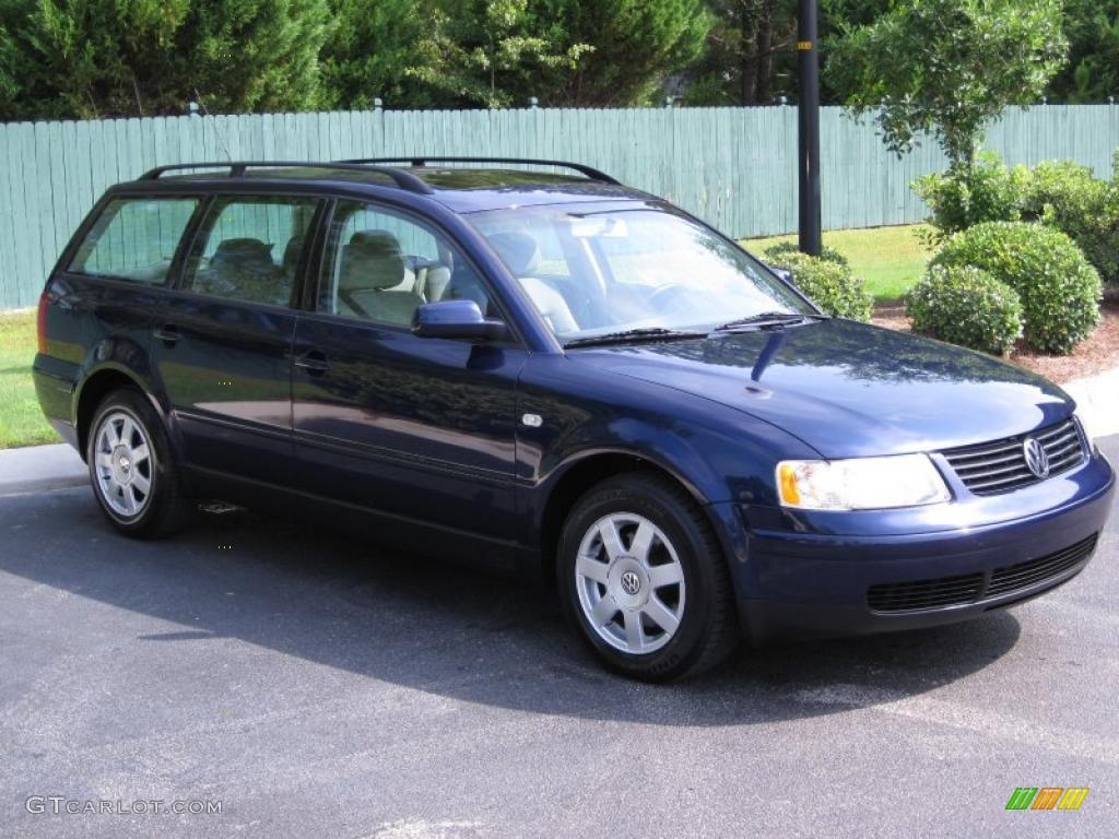 VW vw passat 2001 : 2001 Indigo Blue Pearl Volkswagen Passat GLS Wagon #34799841 Photo ...