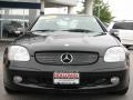 2001 Black Mercedes-Benz SLK 320 Roadster  photo #2