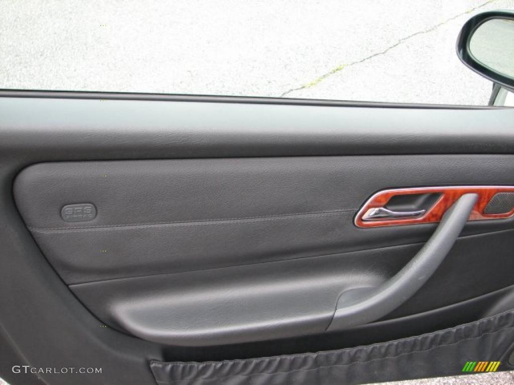 2001 SLK 320 Roadster - Black / Charcoal Black photo #7