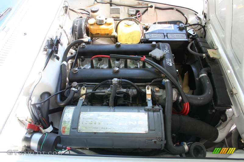 1974 Alfa Romeo Gtv 2000 2 0 Liter Dohc 8v 4 Cylinder