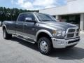 2010 Mineral Gray Metallic Dodge Ram 3500 Laramie Crew Cab 4x4 Dually  photo #2