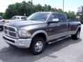 2010 Mineral Gray Metallic Dodge Ram 3500 Laramie Crew Cab 4x4 Dually  photo #4