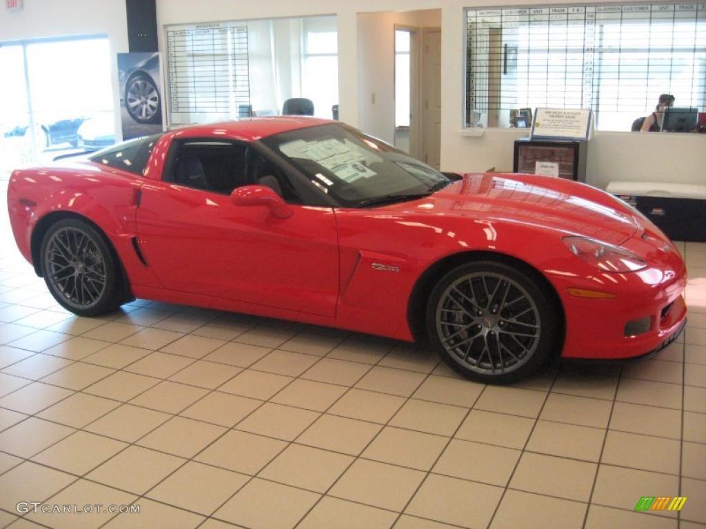 2011 corvette z06 torch red ebony black cashmere photo 1