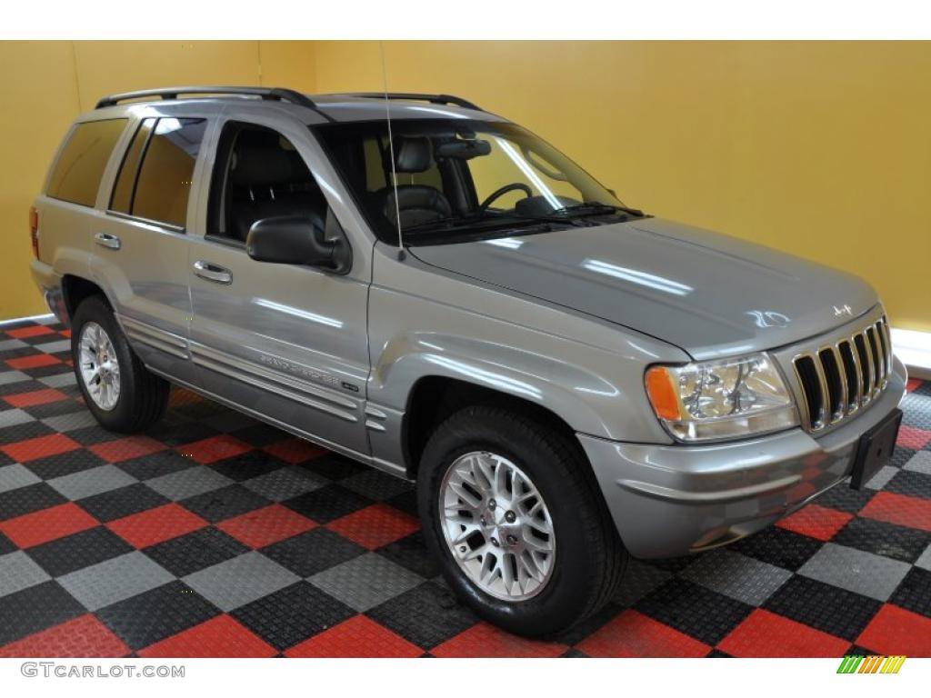 2002 silverstone metallic jeep grand cherokee limited 4x4. Black Bedroom Furniture Sets. Home Design Ideas