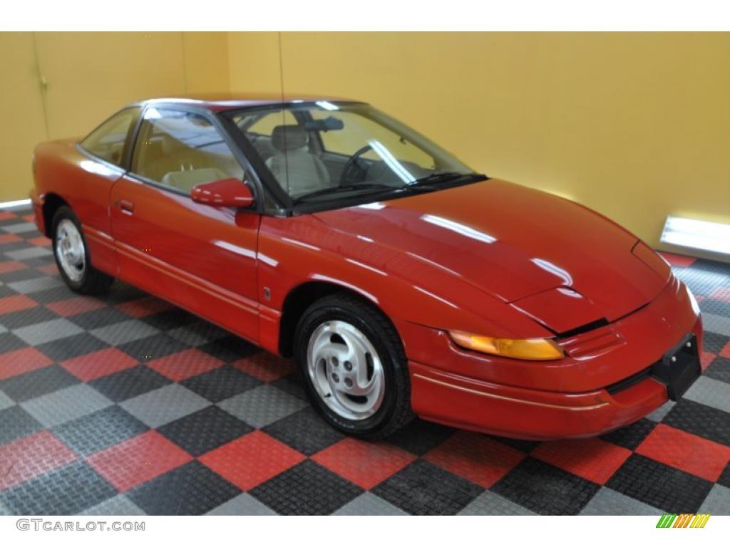 1993 s series sc2 coupe medium red gray photo 1