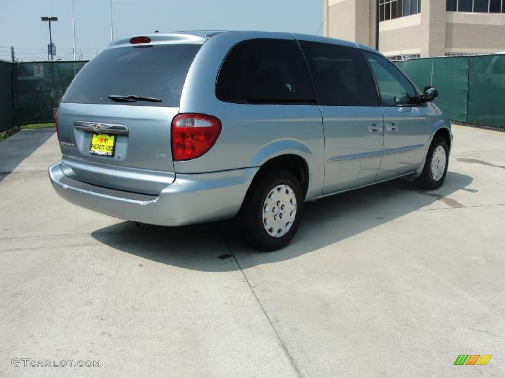 2003 butane blue pearl chrysler town country lx. Black Bedroom Furniture Sets. Home Design Ideas