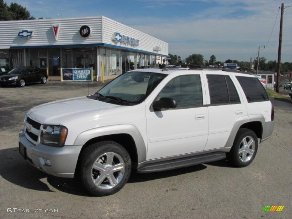 2007 Summit White Chevrolet TrailBlazer LT 4x4 #34851594 Photo #17 : GTCarLot.com - Car Color ...