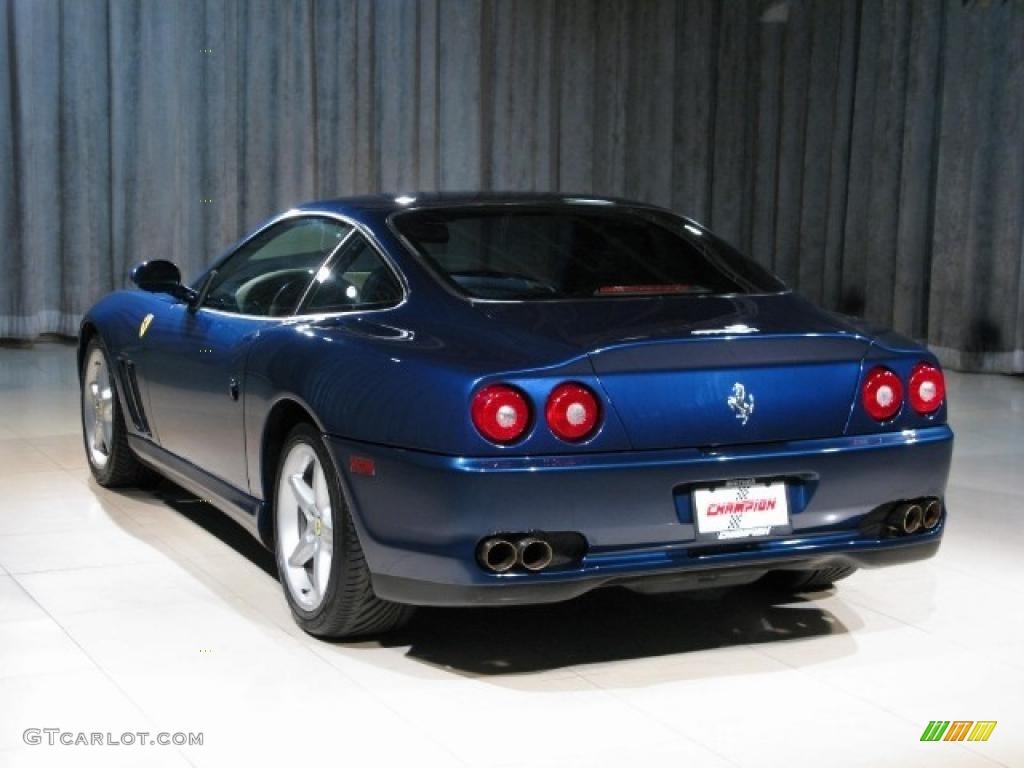 1999 dark blue metallic ferrari 550 maranello 34923381 photo 2 car color. Black Bedroom Furniture Sets. Home Design Ideas
