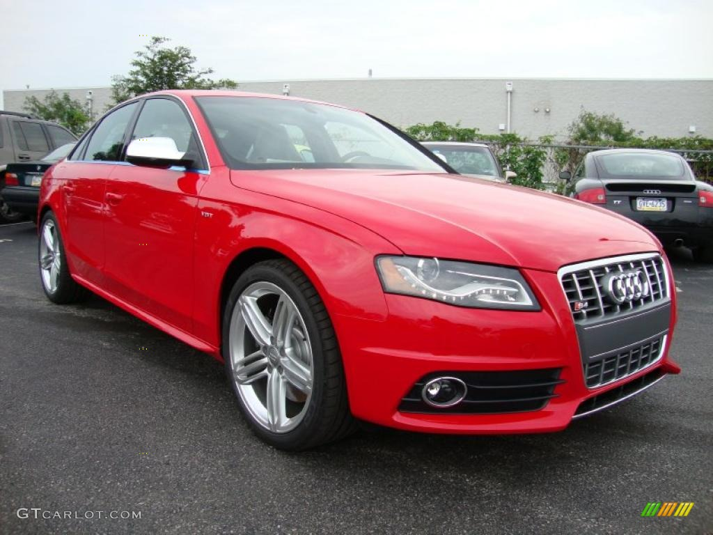 2011 brilliant red audi s4 3 0 quattro sedan 34923409. Black Bedroom Furniture Sets. Home Design Ideas