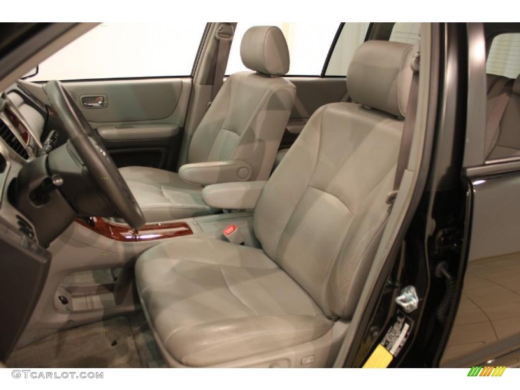 2006 black toyota highlander hybrid limited 4wd 34924172 - Toyota highlander hybrid interior ...