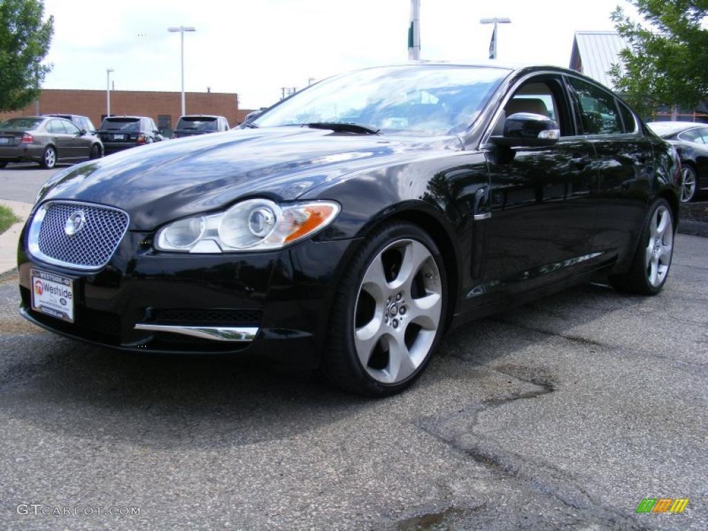 Jaguar xf supercharged black