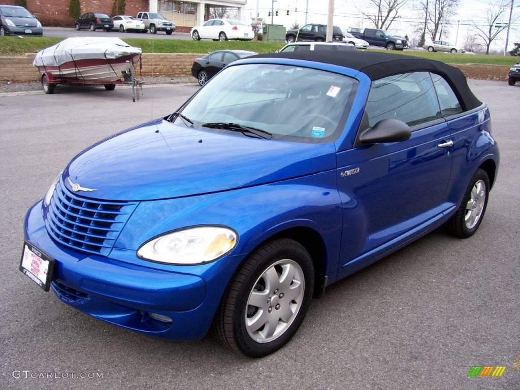 Electric Blue Pearl Chrysler Pt Cruiser