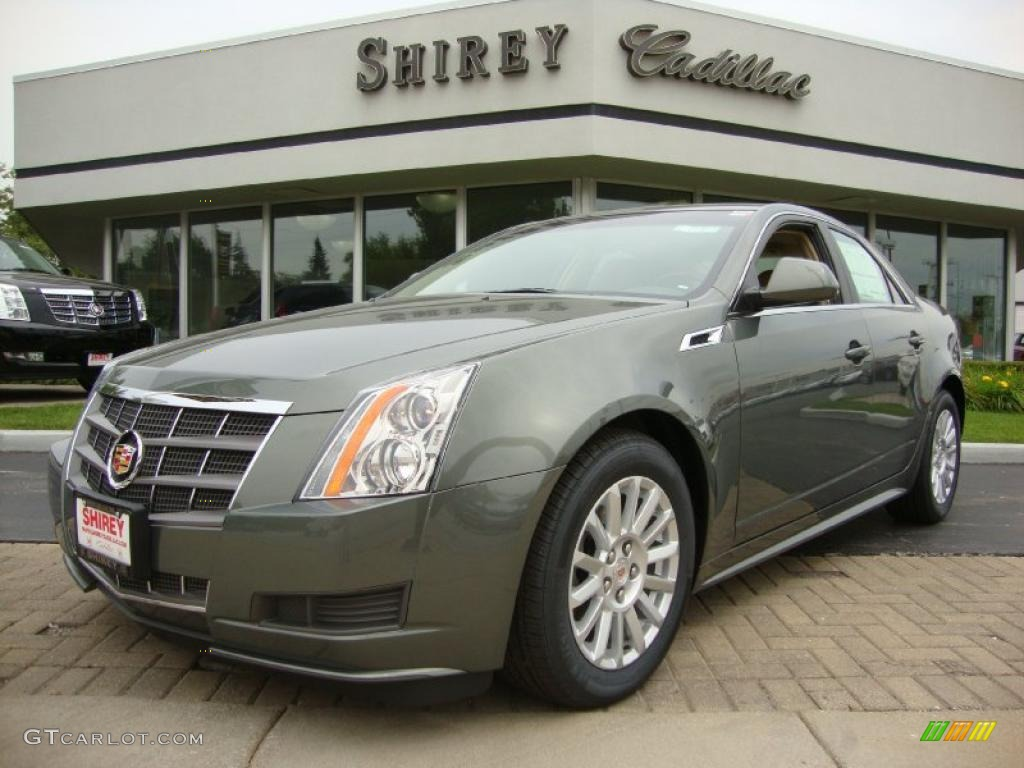 2011 Evolution Green Metallic Cadillac Cts 4 3 0 Awd Sedan