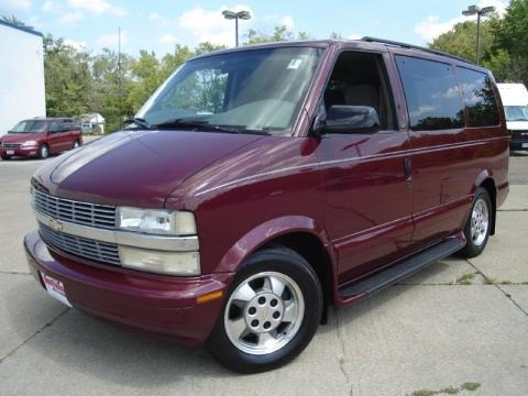 2003 Chevrolet Astro LT AWD Data, Info and Specs