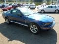 2007 Vista Blue Metallic Ford Mustang V6 Deluxe Coupe  photo #6