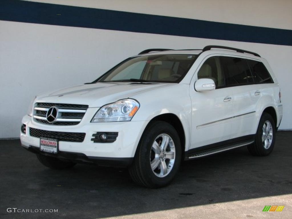 2008 arctic white mercedes benz gl 320 cdi 4matic for Mercedes benz gl 2008