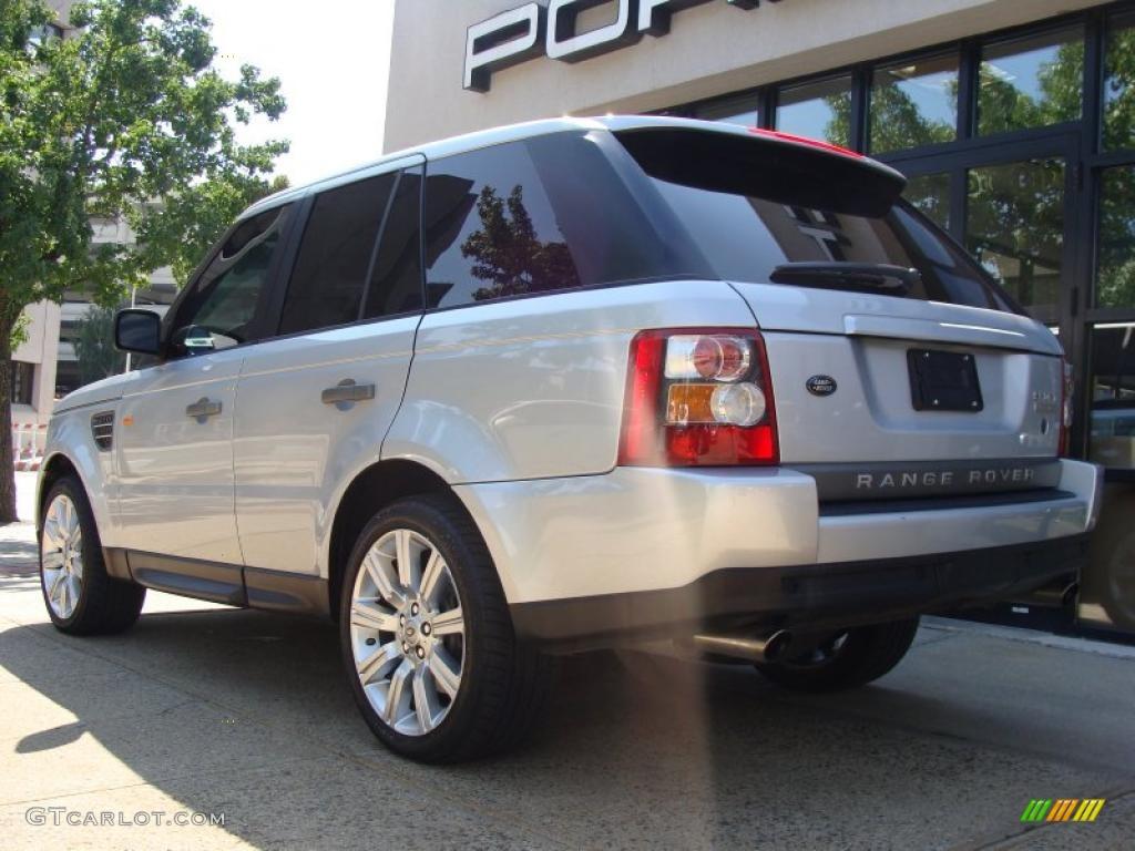 2007 Zermatt Silver Metallic Land Rover Range Rover Sport