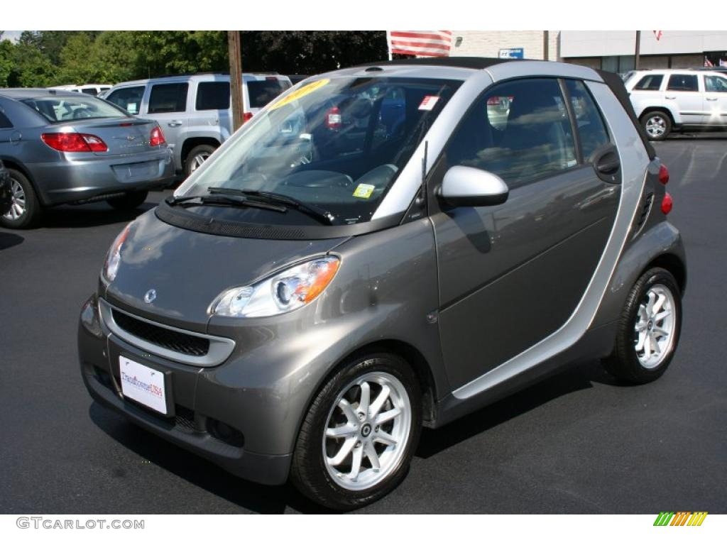 Gray Metallic Smart Fortwo