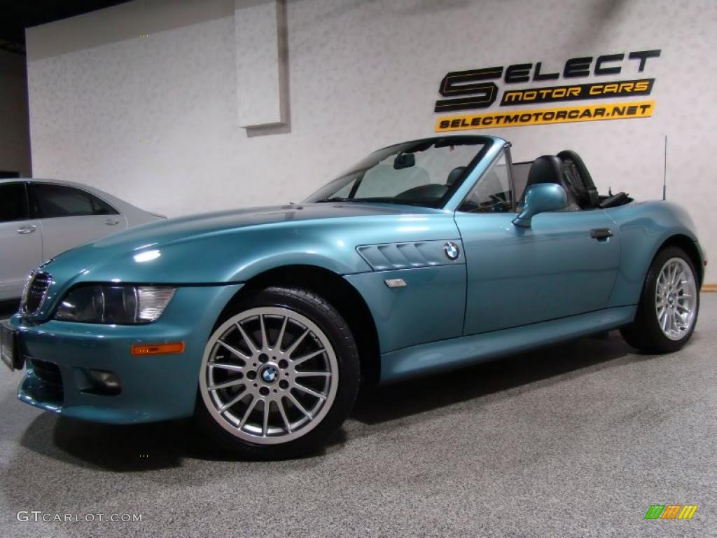 2001 Atlanta Blue Metallic Bmw Z3 3 0i Roadster 35054609