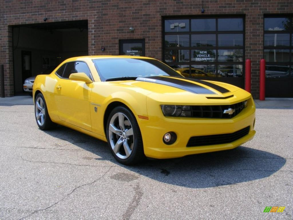 2010 Rally Yellow Chevrolet Camaro SS Coupe Transformers ...