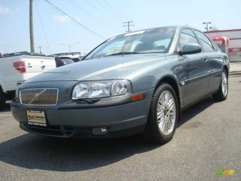 2001 Platinum Green Metallic Volvo S80 T6 #35126186 | GTCarLot.com - Car Color Galleries