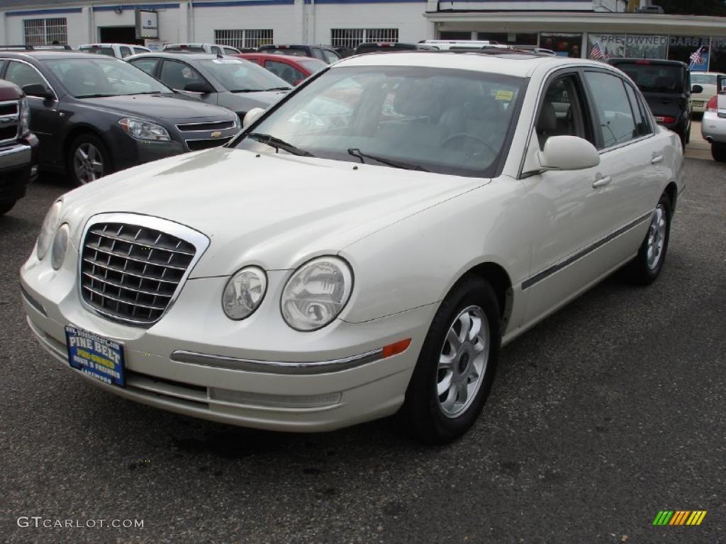 2004 pearl white kia amanti 35126323 car. Black Bedroom Furniture Sets. Home Design Ideas