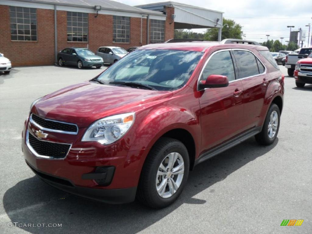 2011 Cardinal Red Metallic Chevrolet Equinox LT #35126741 | GTCarLot ...