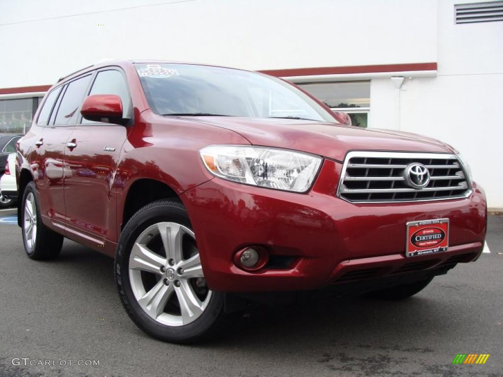 Toyota Highlander Limited 4wd