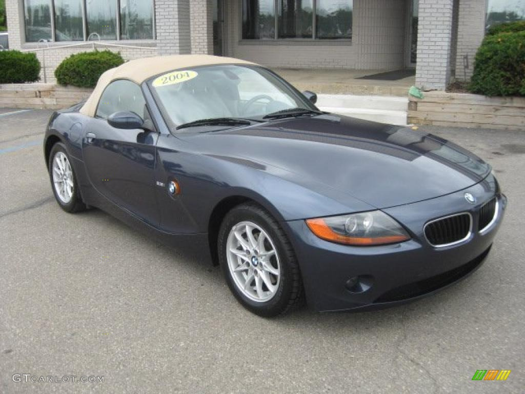 2004 Toledo Blue Metallic Bmw Z4 2 5i Roadster 35177630